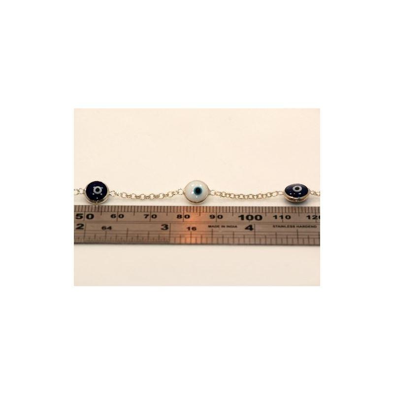 Evil Eye Murano Glass Bead Designer Ster 73094 1