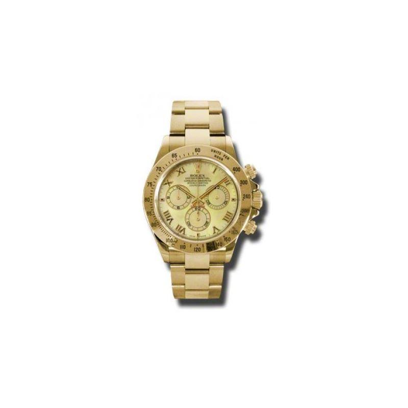 Rolex Watches  Daytona Yellow Gold  Bracelet 11652