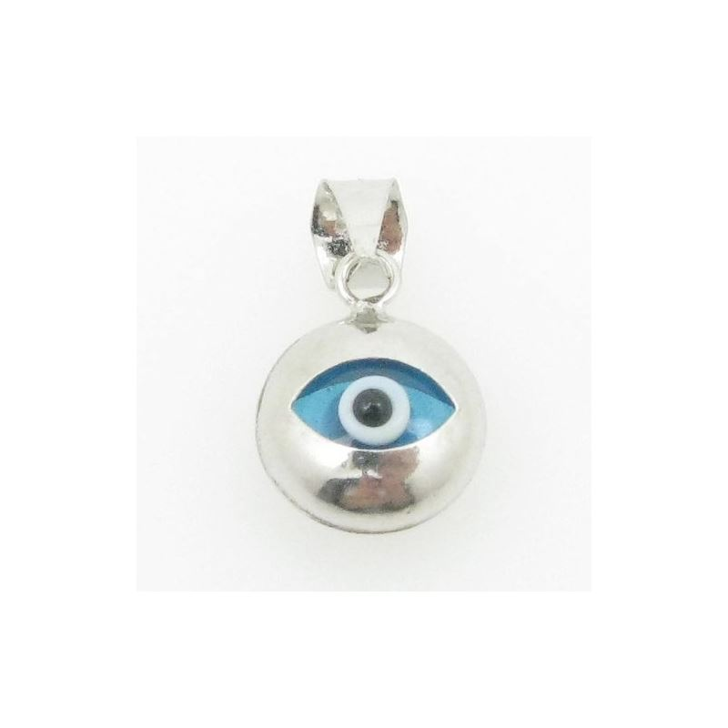 womens bp129 kabbalah evil eye .925 Sterling Silve