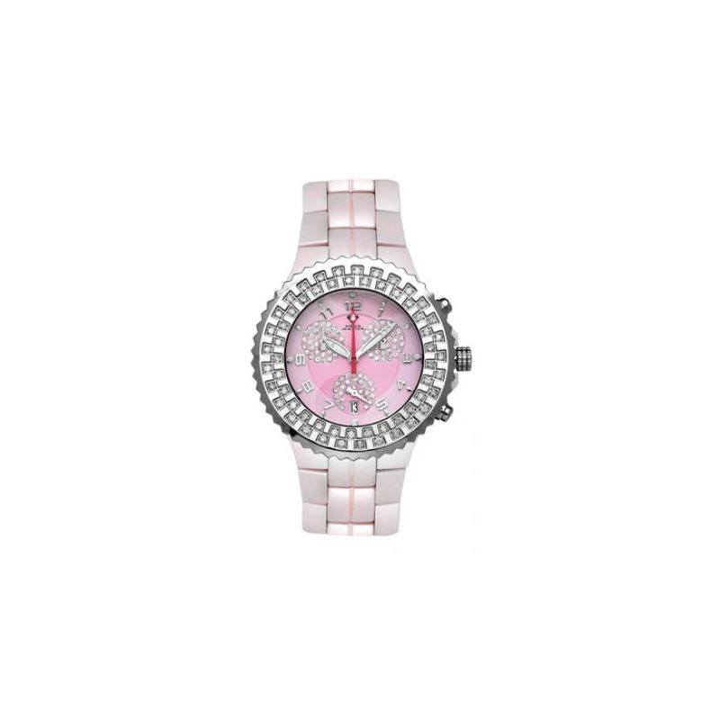 Aqua Master Unisex Ceramic Diamond Watch 12-4W