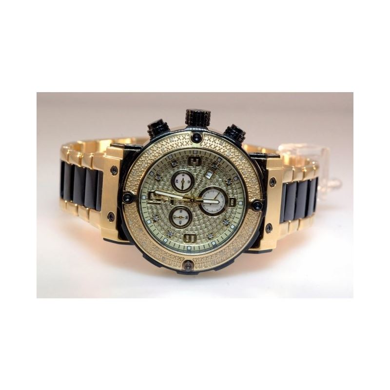 Agua Master Mens Diamond Watch W148fa