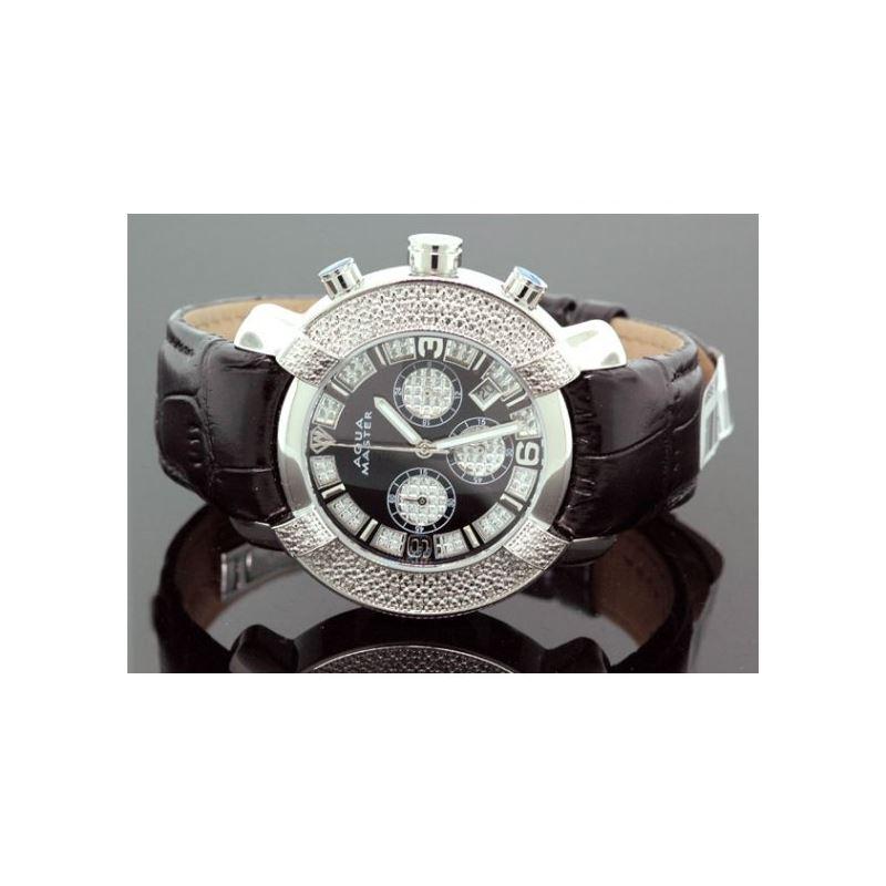 Aqua Master Mens Diamond Watch 96-52