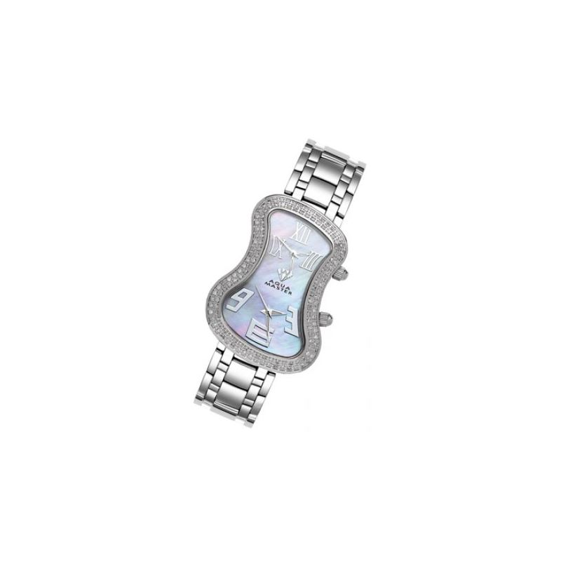 Aqua Master Diamond Watch The AquaMaster Two-Time