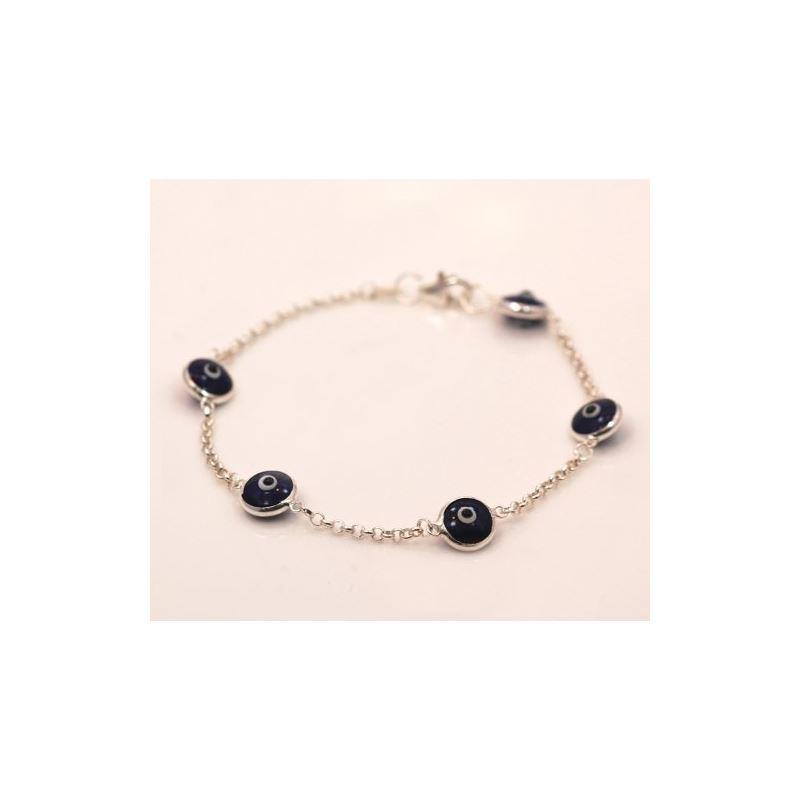 Evil Eye Murano Glass Bead Designer Ster 73111 1