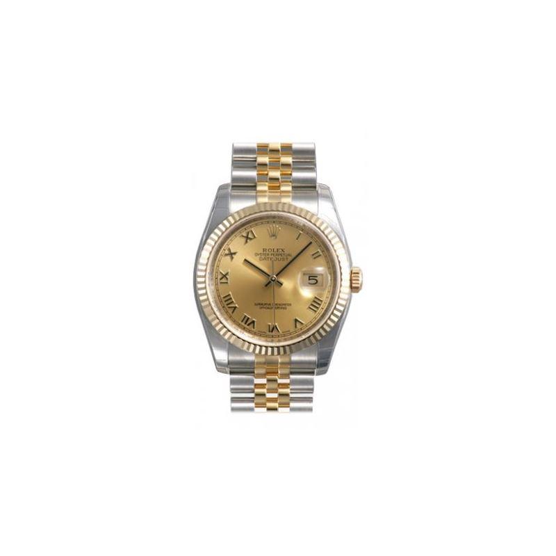 Rolex Datejust Copper Roman Dial Jubilee Bracelet