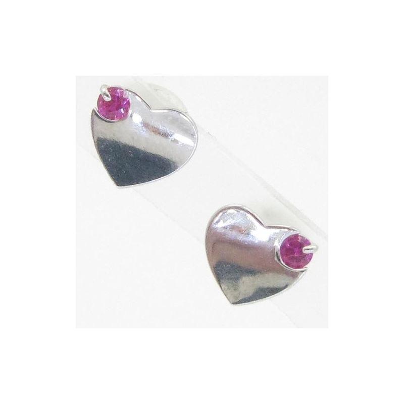 14K Gold Earrings heart star flower dolp 64158 1