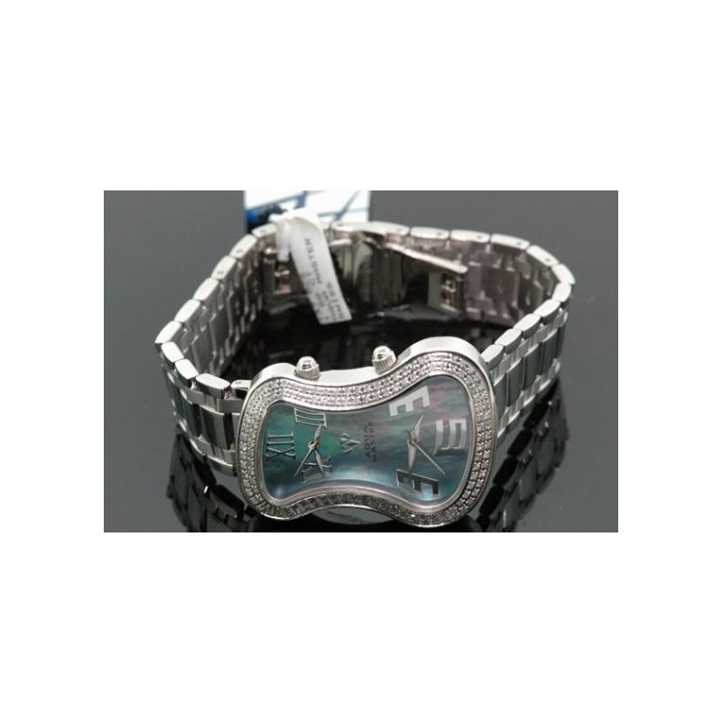 Aqua Master Violin Two Face Ladies Diamond Watch