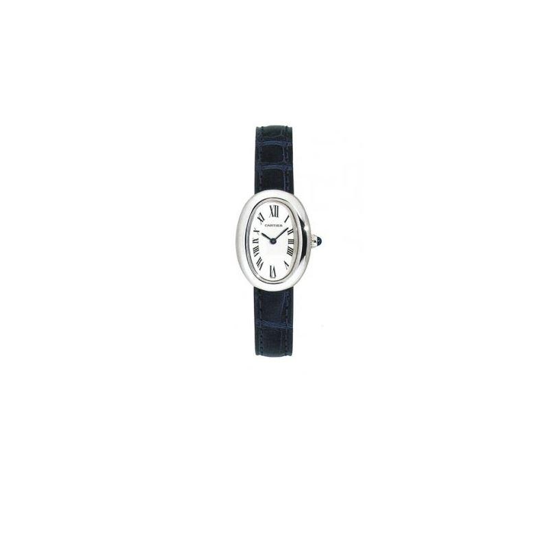 Cartier Baignoire 18kt White Gold Ladies 55090 1