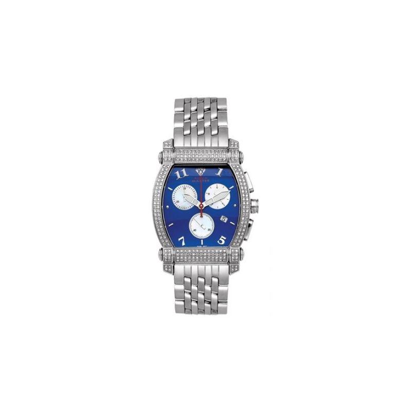 Aqua Master Diamond Watch Unisex Stainless Steel W