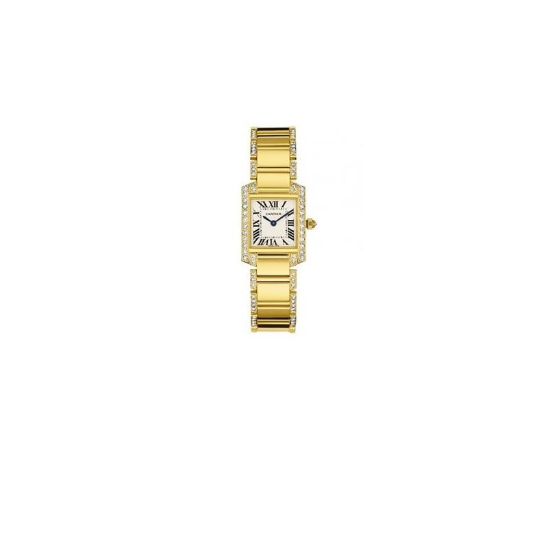 Cartier Tank Francaise Ladies Watch WE1001RG