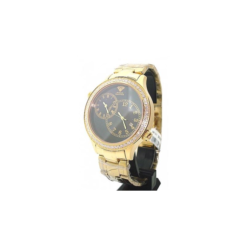 Aqua Master 2.45ctw Mens Diamond Watch AM04