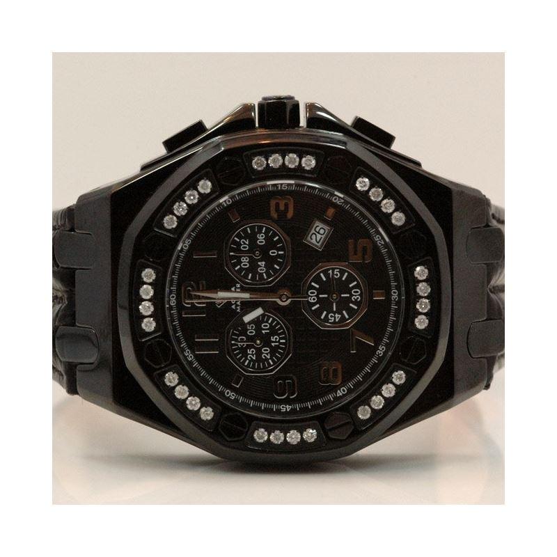 Aqua Master Royal Oak Mens Diamond Watch 49195 1