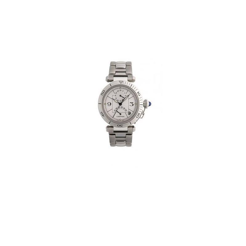 Cartier Pasha GMT Mens Watch W31037H3 55233 1