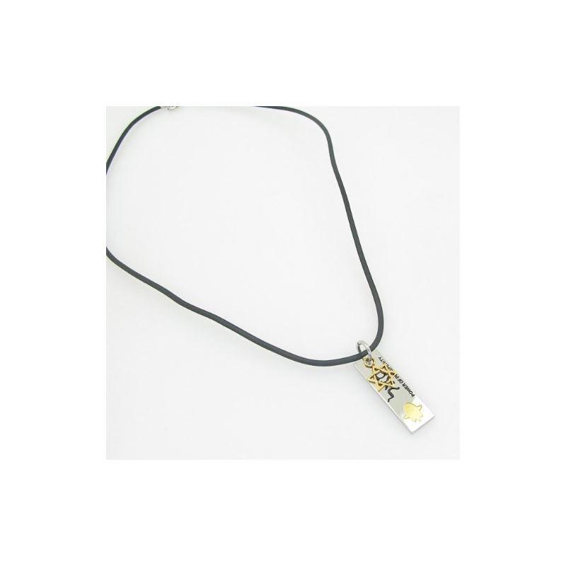 Unisex genuine leather braided crystal f 82712 1
