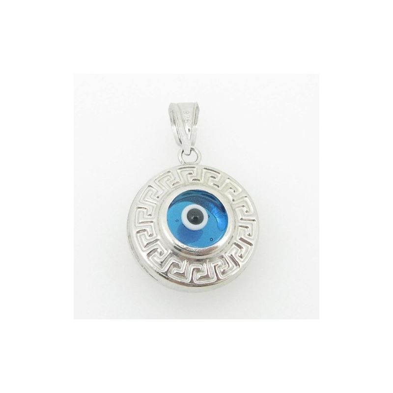 womens bp139 kabbalah evil eye .925 Sterling Silve