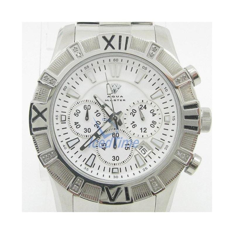 Mens Aqua Master Iced Out Diamond Watch W333AQ2