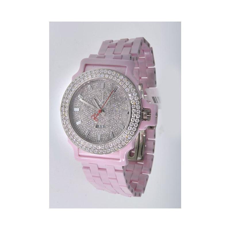 Jacob  Co Ceramic Unisex Diamond Watch JCS16