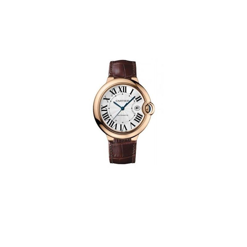 Cartier Ballon Bleu Polished 18K Rose Gold Watch W