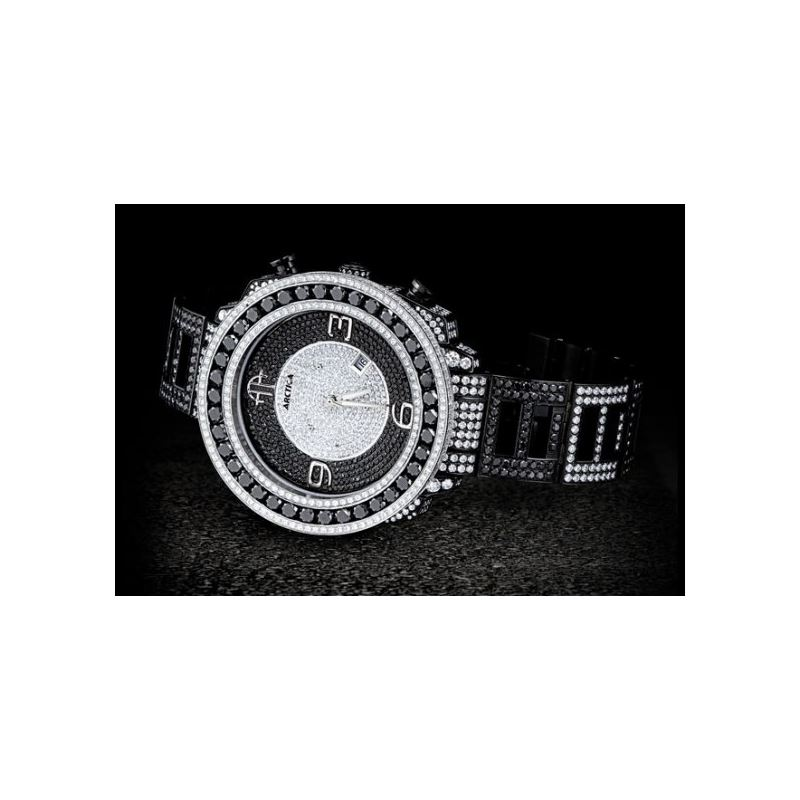 Arctica Watches Arctica 50mm Diamond Case 39.10ct