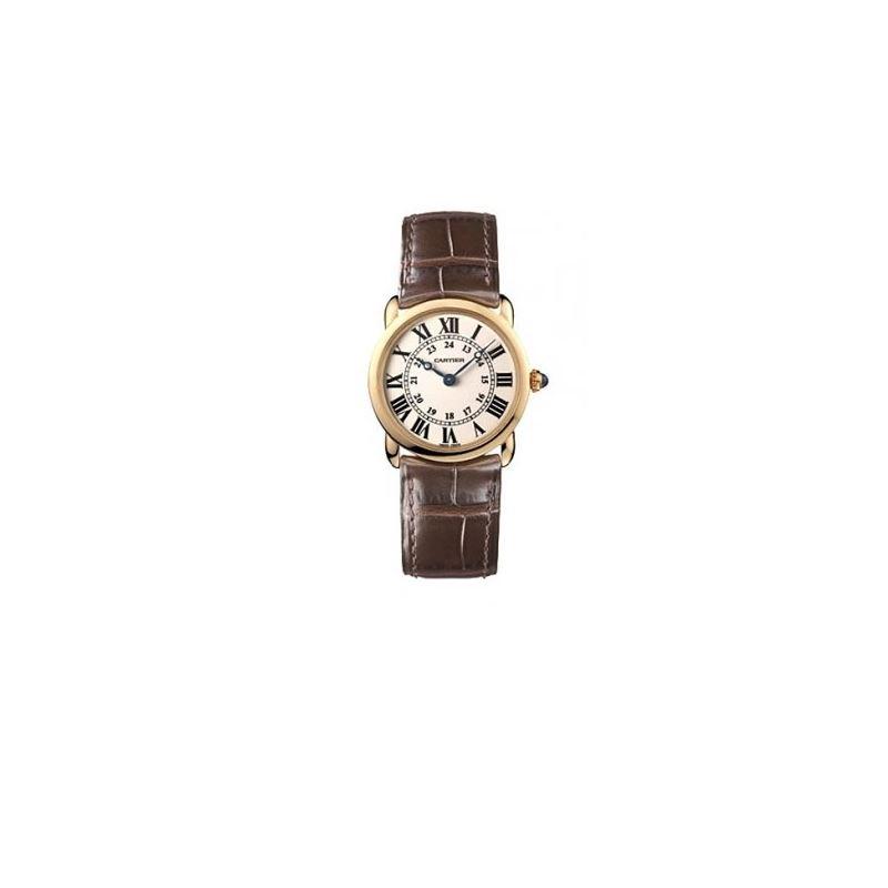 Cartier Ronde Louis 18kt Rose Gold Ladie 55055 1