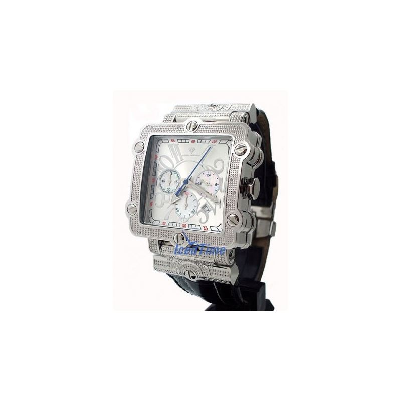 Aqua Master Unisex Diamond Watch 0.20ct W154