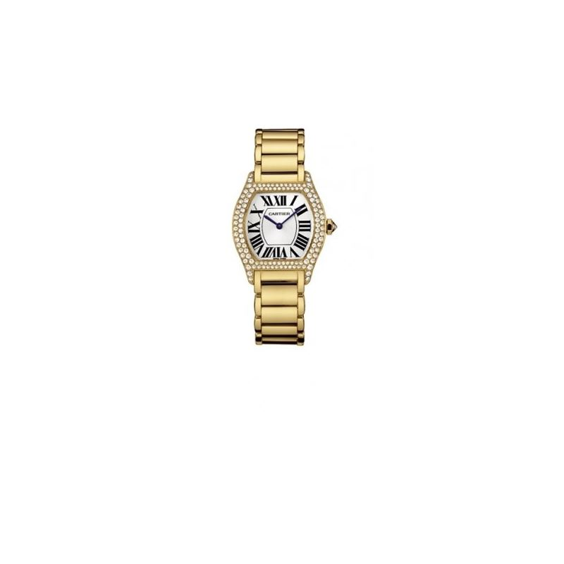 Cartier Tortue 18k Yellow Gold Ladies Wa 55040 1