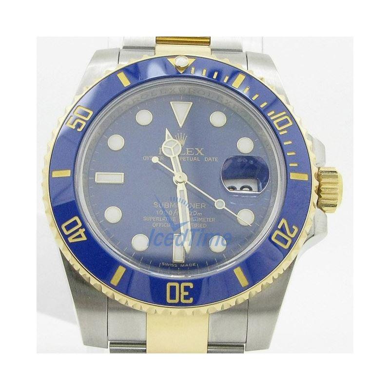 Rolex Submariner Blue Index Dial Oyster  54007 1