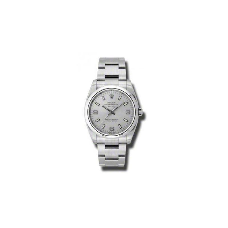 Rolex Watches  AirKing Domed Bezel 114200 slio