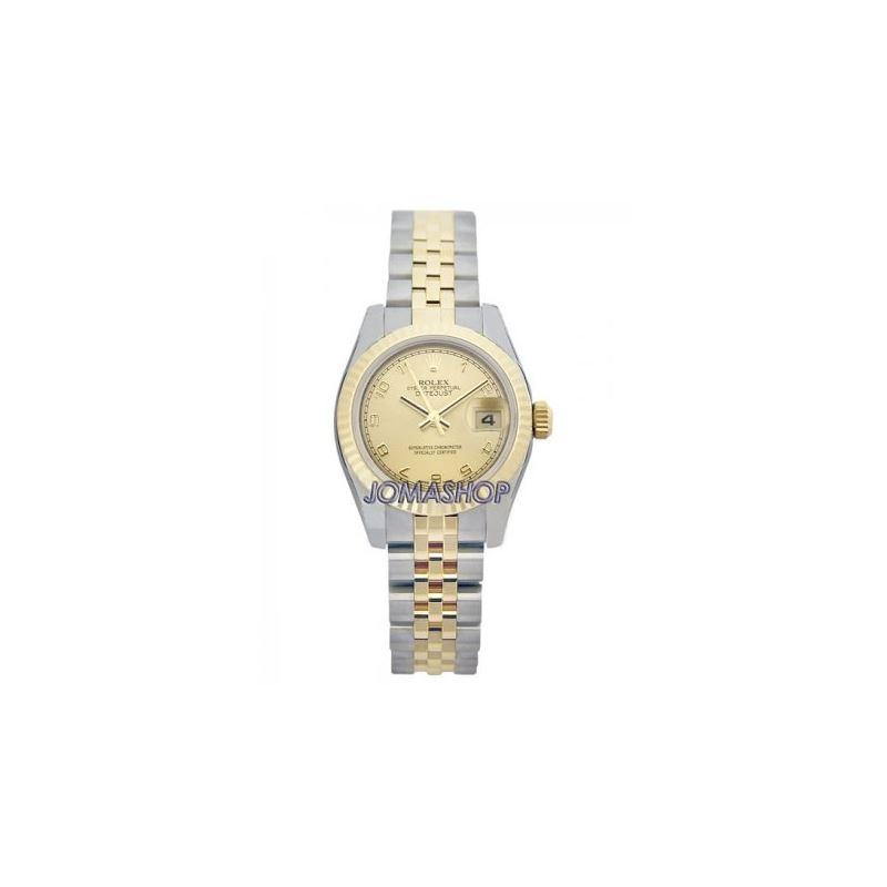 Rolex Datejust Champagne Arabic Dial Jubilee Brace