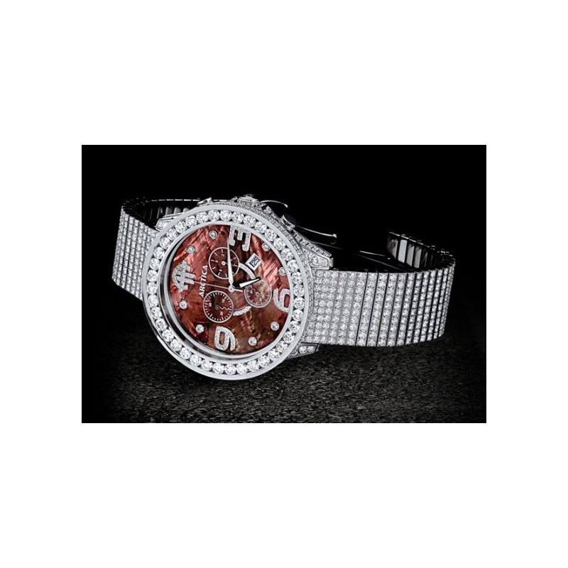 Arctica Watches Arctica 47mm Diamond Case 32.50ct
