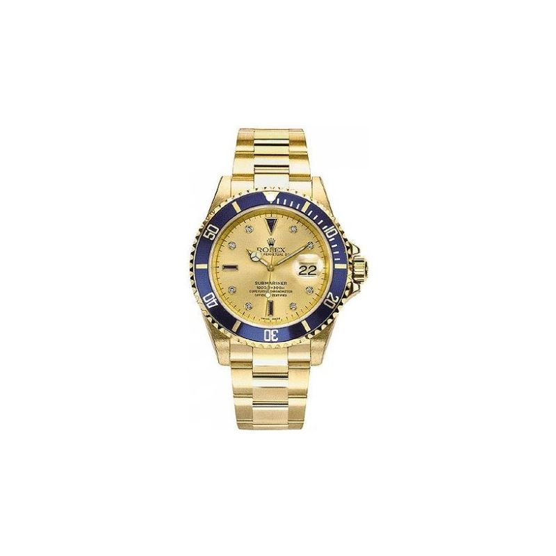 Rolex Oyster Perpetual Submariner Date 18kt Gold w