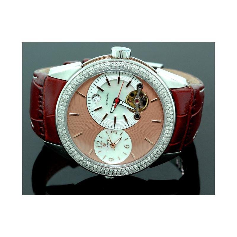 Mens Aqua Master Diamond Automatic Yellow Watch 1.