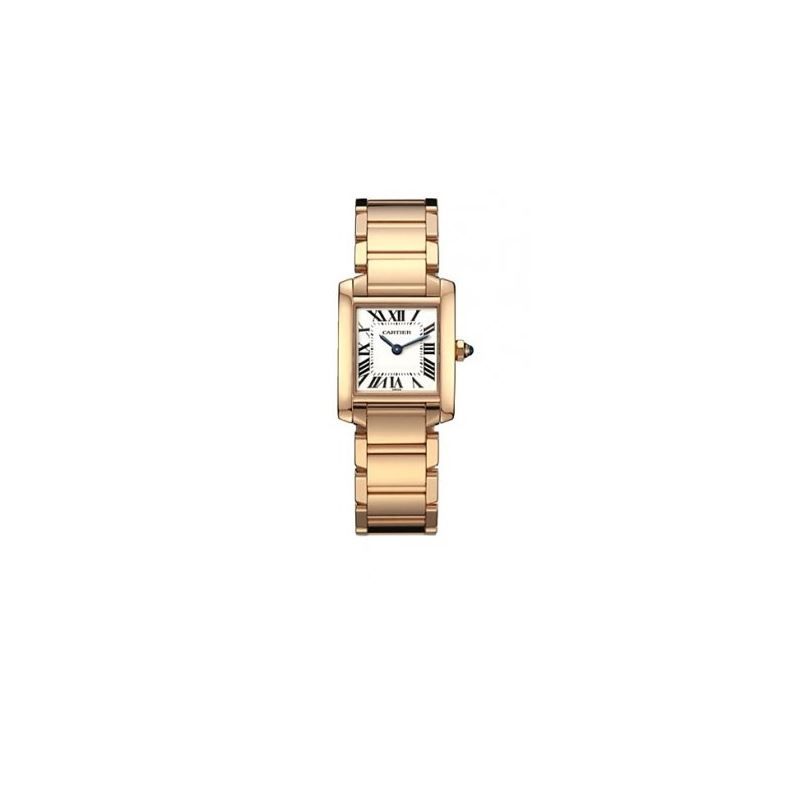 Cartier Tank Francaise 18kt Rose Gold Ladies Watch
