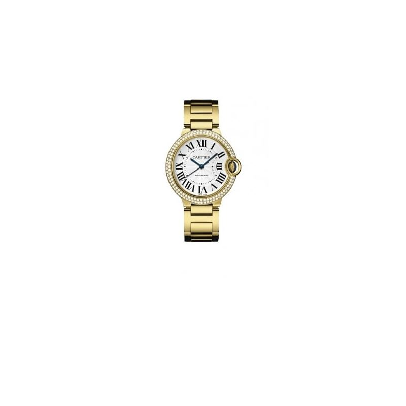 Cartier Ballon Bleu Unisex Gold Watch WE9004Z3