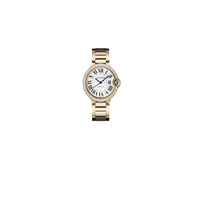 Cartier Ballon Bleu Unisex Gold Watch WE9005Z3