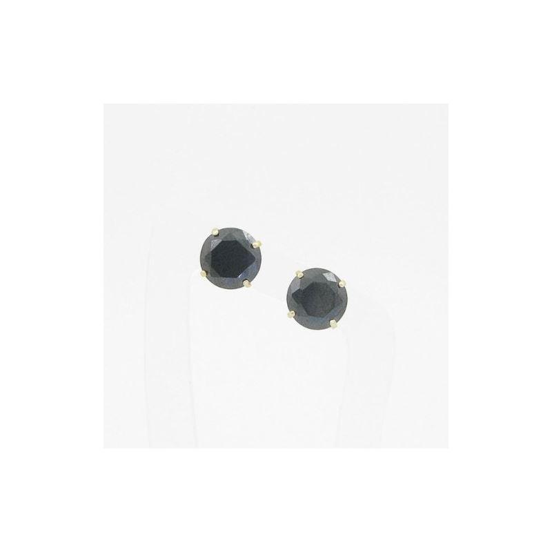 Unisex 14K solid gold earrings fancy stu 81421 1