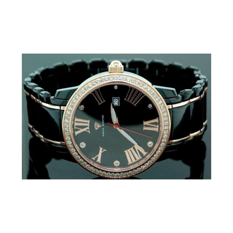 Aqua Master Mens Classic Diamond Watch W320a