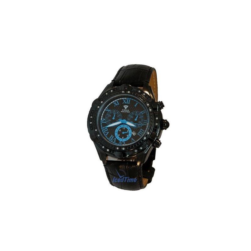 Aqua Master Mens Diamond Watch AQMOS02