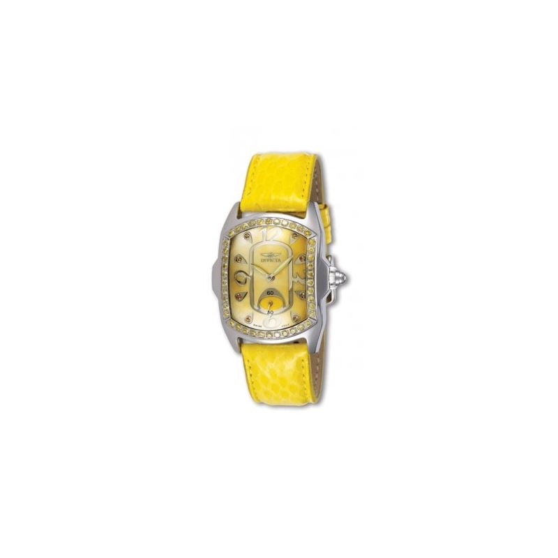Invicta Diamond WatchesLady Lupah Yellow and White