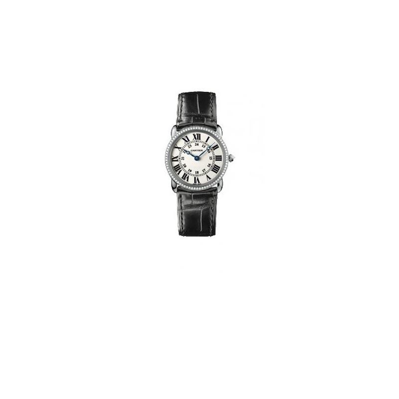 Cartier Ronde Louis Unisex Gold Watch WR000251