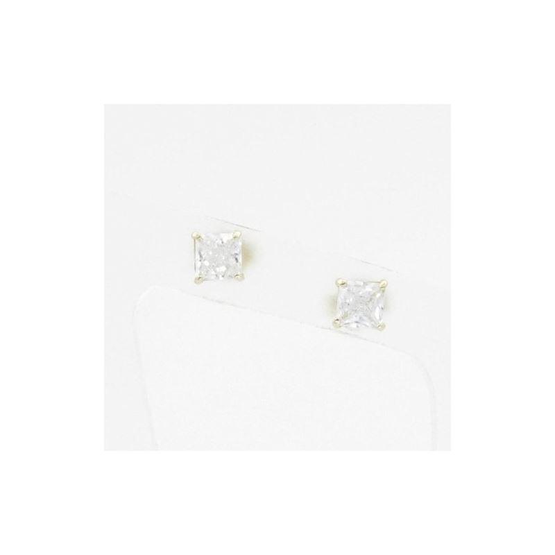 Unisex 14K solid gold earrings fancy stu 82574 1