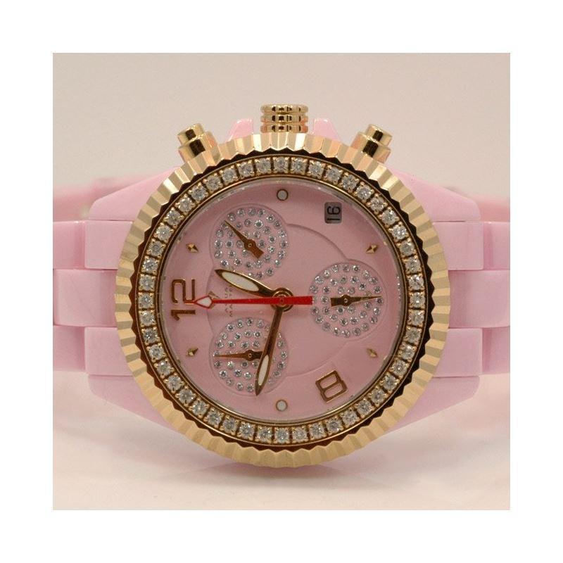 Aqua Master Ladies Ceramic Diamond Watch 53488 1