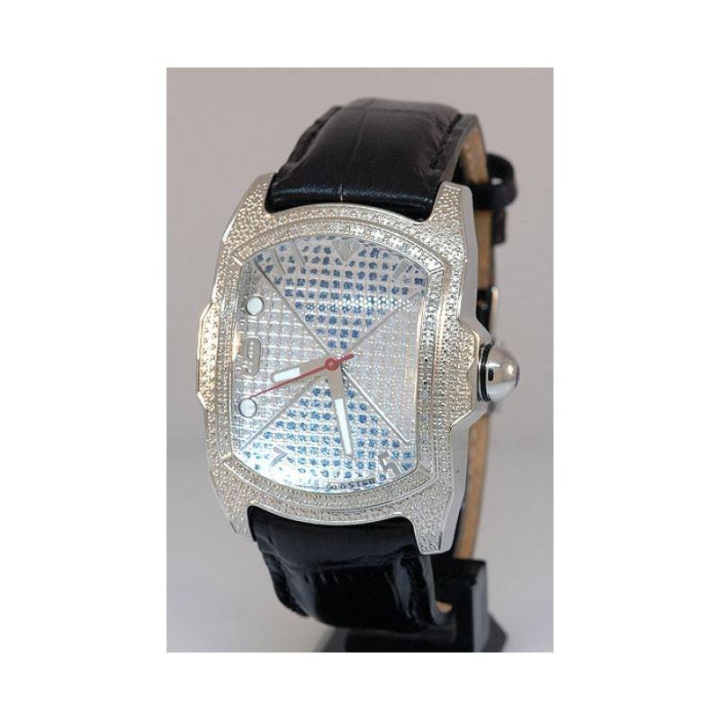 Aqua Master Mens Diamond Watch AQMOS03