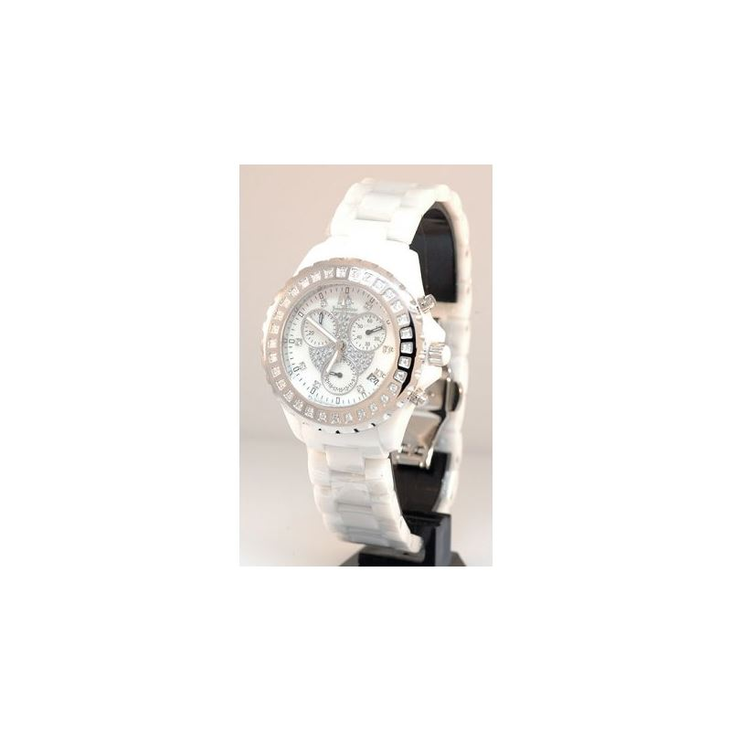 Ceramic Watches Techno Master Unisex Diamond Watch