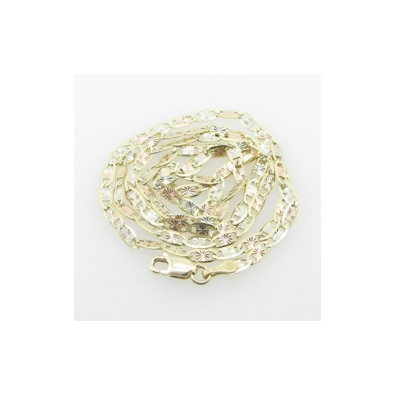 Mens Yellow-Gold Fancy Link Chain Length 79122 1