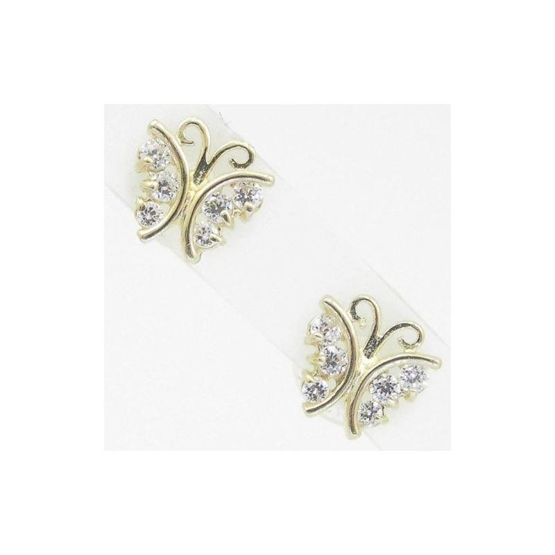 14K Gold Earrings heart star flower dolp 63988 1