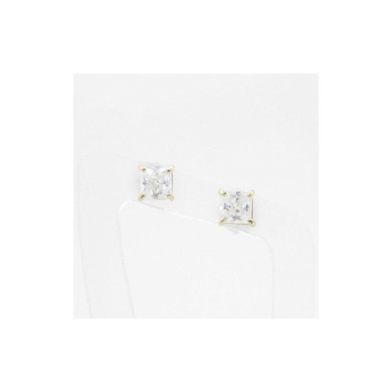 Unisex 14K solid gold earrings fancy stu 81896 1
