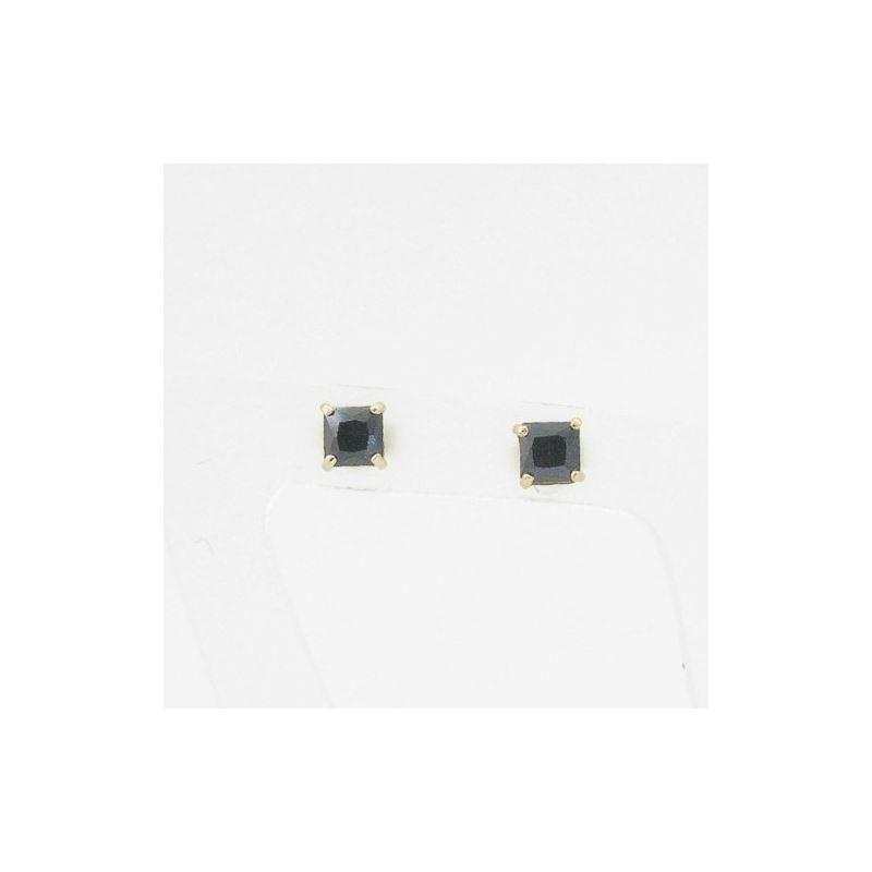Unisex 14K solid gold earrings fancy stu 81176 1