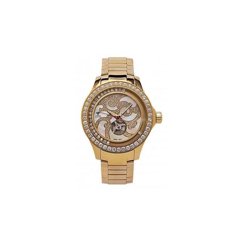 Aqua Master Luxury 7.50 ct Diamond Mens Watch w211