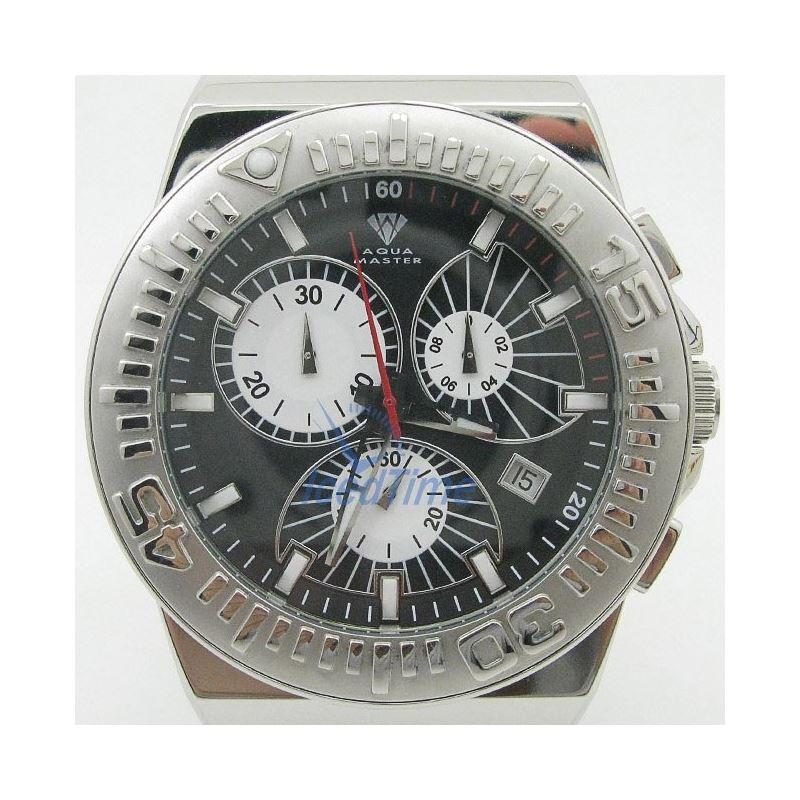 Mens Aqua Master Iced Out Diamond Watch  50510 1